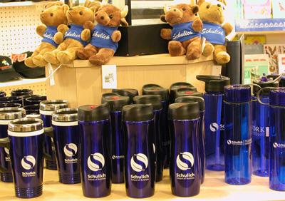 Schulich branded merchandise