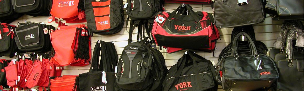 York branded bags