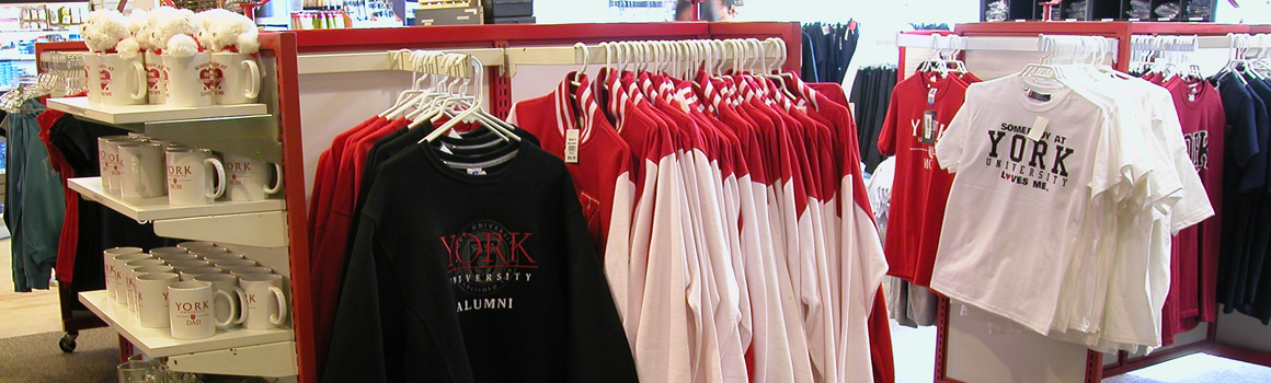 York branded merchandise