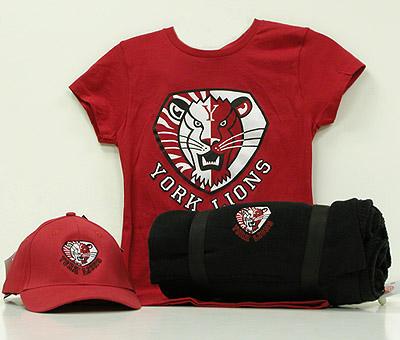 York Lions branded merchandise